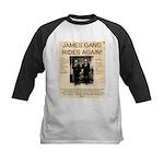 The James Gang Kids Baseball Jersey