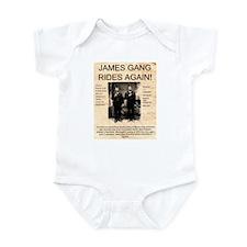 The James Gang Infant Bodysuit