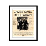 The James Gang Framed Panel Print
