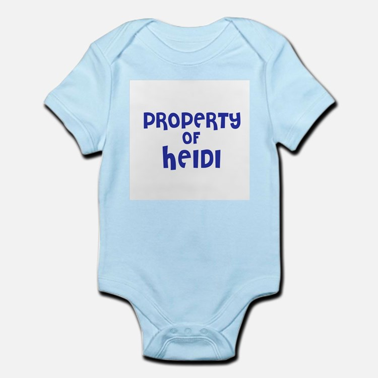 Property of Heidi Infant Creeper