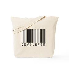 Developer Barcode Tote Bag