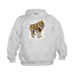 Mandrill Monkey (Front) Hoodie