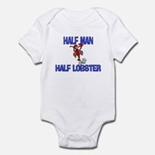 Half Man Half Lobster Infant Bodysuit