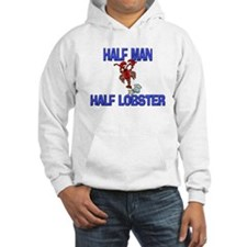 Half Man Half Lobster Hoodie