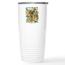 Border Terrier Environmental Travel Mug