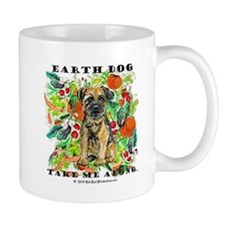 Border Terrier Environmental Mug