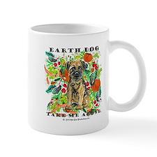 Border Terrier Environmental Small Mug
