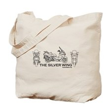 The Silver Wing Tote Bag