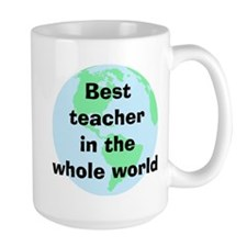 BW Teacher Mug