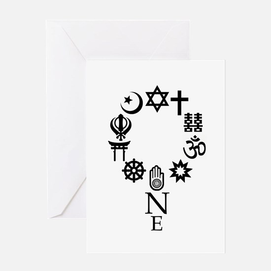 World Unity Card Greeting Cards