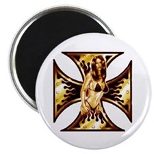 """Iron Girl 5 2.25"""" Magnet (100 pack)"""