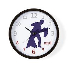 Dancers Tango Wall Clock