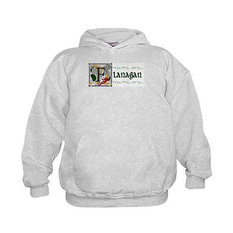 Flanagan Celtic Dragon Kids Hoodie