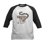Ring-Tailed Lemur Kids Baseball Jersey