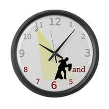 Tango Dance Clock