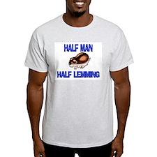 Half Man Half Leatherback Sea Turtle T-Shirt