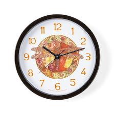 Hot Celtic Dragonfly Wall Clock