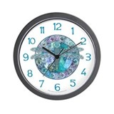 Celtic dragonfly clock Wall Clocks