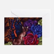 Catterfly Greeting Card