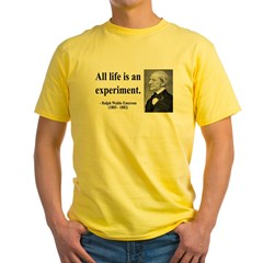 Ralph Waldo Emerson 34 Yellow T-Shirt