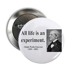 "Ralph Waldo Emerson 34 2.25"" Button (100 pack"