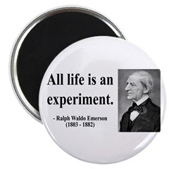 "Ralph Waldo Emerson 34 2.25"" Magnet (100 pack"