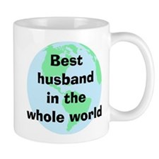 BW Husband Small Mug