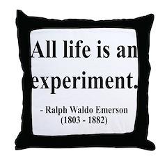 Ralph Waldo Emerson 34 Throw Pillow