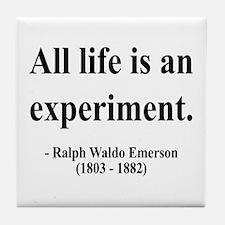 Ralph Waldo Emerson 34 Tile Coaster