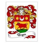 Boyer Family Crest Small Poster