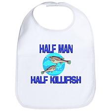Half Man Half Killifish Bib