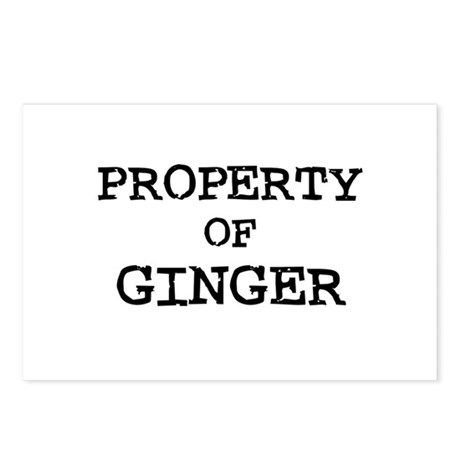 Property of Ginger Postcards (Package of 8)