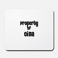 Property of Gina Mousepad