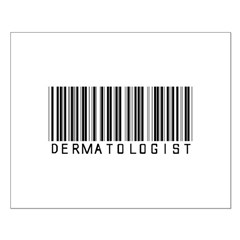 Dermatologist Barcode Posters