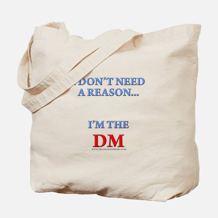 DM - Reason Tote Bag