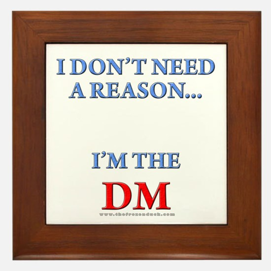 DM - Reason Framed Tile