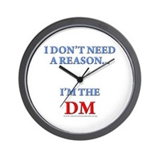 DM - Reason Wall Clock