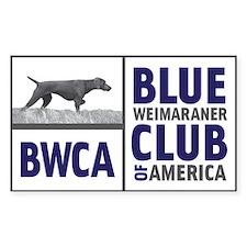 BWCA Rectangle Decal