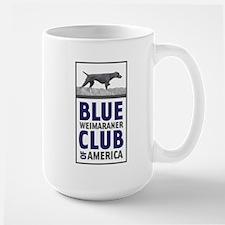 Blue Weimaraner Mug