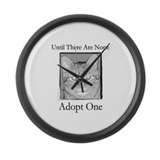 Until There Are None, Adopt a Large Wall Clock