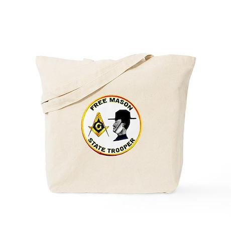 Masonic State Trooper Tote Bag