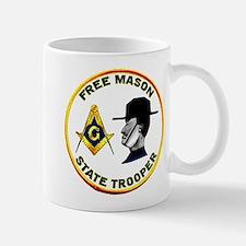 Masonic State Trooper Mug