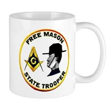 Masonic State Trooper Small Mug