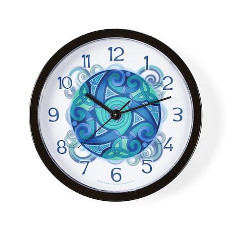 Celtic Planet Wall Clock