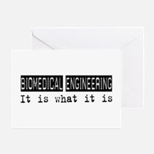Biomedical Engineering Is Greeting Card