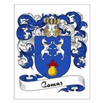 Camus Family Crest Small Poster