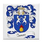 Camus Family Crest Tile Coaster