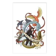 I Heart Cryptozoology Postcards (Package of 8)