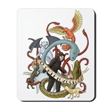 I Heart Cryptozoology Mousepad