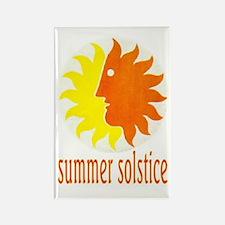 SUMMER SOLSTICE Rectangle Magnet